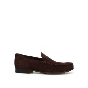 Men Loafers & Slippers Tod'S Suede classic loafers XXM11A00010BYES800 Collection WFKGIUW