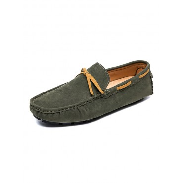 Mens Loafer Shoes Cosy PU Leather Bows Slip-On Trending #24640957440