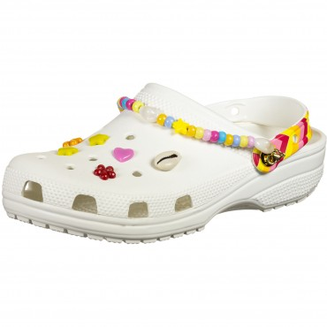 Crocs Classic Festival Vibes - Classic Sandals white men Fitted NLRV358